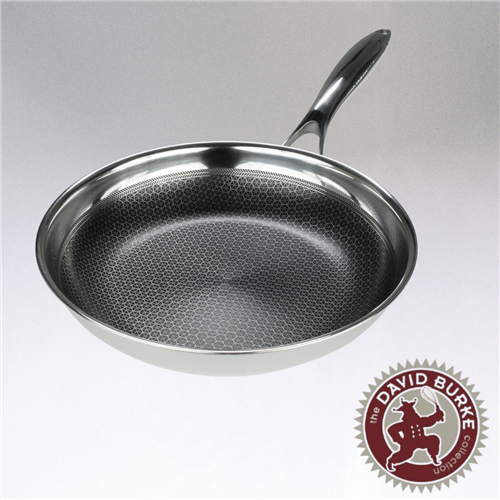 Black Cube Fry Pan, 8-inch diameter