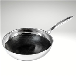 "Black Cube Chef's Pan, 9 1/2"" dia., 2.5 qt."