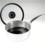 "Black Cubeâ""¢ Saucepan with Lid, 8"" diameter (2.5 qt.)"