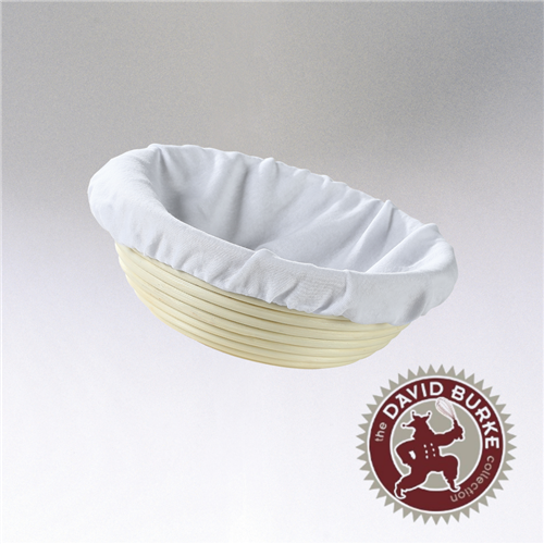 Chef Burke Collection Round Brotform with Liner, Multiple Sizes