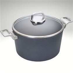 Image of the Woll Diamond Lite Pro Induction Stockpot With Lid available in multiple sizes.