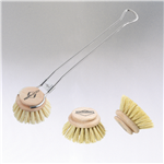 Dish Washing Brush with Replacement Brushes
