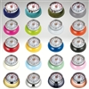 "Image of all colors of the Kitchen Timer ""Retro"", navy blue, teal, olive, gray, orange, pink, mint green, yellow, light blue, cream, red, black, magenta, royal blue, white, kiwi, brass, copper, carbon, chrome"