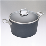 "Diamond Lite Pro, Induction Stockpot w/ Lid 5.25 qt., 9.5"" dia."