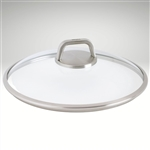 "Diamond Lite Pro, Glass lid, round w/ vented knob, 12 1/2"" dia."