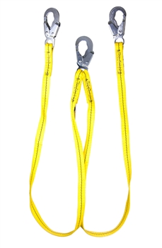 NON-SHOCK ABSORBING LANYARD: DOUBLE LEG 6' | Guardian 01270