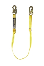 Guardian Adjustable Shock Absorbing Lanyard, Single Leg - 4'-6' | 01285