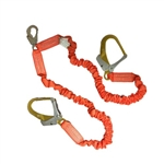 Double Stretch Lanyard w/ Aluminum Rebar Hook