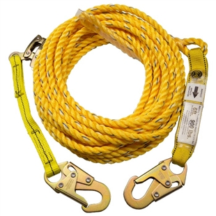 Poly Steel Rope Vertical Lifeline System | Guardian 01320 & 01310