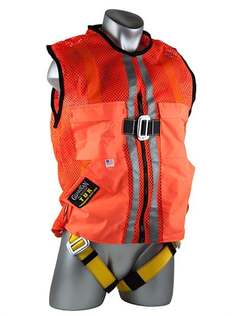 Orange Construction Tux Harness Guardian Orange Vest