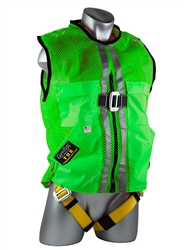 Green Mesh Construction Tux Harness