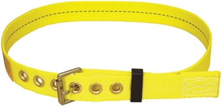 "Tongue Buckle Belt with Back D-ring and 3"" Pad - Small 
