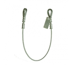 Guardian Vinyl Coated Galvanized Cable Choker Anchor with Thimble Ends - 3' | 10440