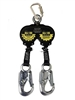 Double Self Retracting Lanyard | Double Retractable Lanyard | Double Blow Blocker