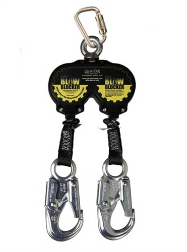 Double Self Retracting Lanyard Double Retractable
