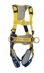 Delta Comfort Construction Style Positioning/Climbing Harness with Buckle Leg Straps - X-Large | 1100635