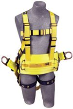 "Delta Derrick Harness with 18"" Dorsal D-Ring Extension - X-Large 