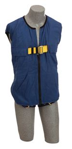 Delta Workvest Non-Reflective Blue Harness - XX-Large | 1107418