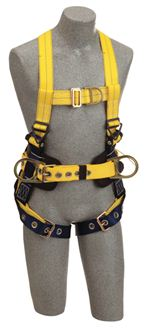 Delta Construction Style Positioning/Climbing Harness with Leg Straps - Large | 1107801