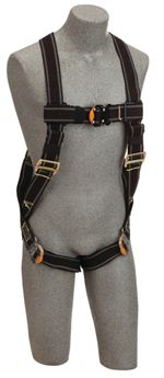 Delta Vest-Style Welder's Harness with Quick Connect Buckle Leg Straps - X-Large | 1109976