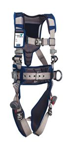 ExoFit STRATA Construction Style Positioning Harness with Aluminum D-rings - X-Large | 1112553
