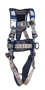 ExoFit STRATA Construction Style Positioning/Climbing Harness with Leg Straps - X-Large | 1112573