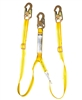 Adjustable Double Leg Shock Absorbing Lanyard - 11285