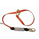 Triple Lock Wrap Lanyard - Single Leg
