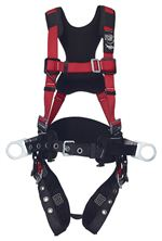 PRO Construction Style Positioning Harness - Moisture Wicking Comfort Padding - X-Large | 1191434