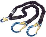 ShockWave 2 Arc Flash 100% Tie-Off Shock Absorbing Lanyard with Aluminum Rebar Hooks | 1244632