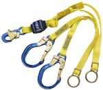 EZ-Stop Tie-Back 100% Tie-Off Shock Absorbing Lanyard with D-rings | 1246071