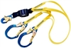 DBI Sala 1246160 Force2 100% Tie-Off Shock Absorbing Lanyard 6'