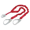 Protecta PRO-Stretch Double Lanyard w/ Rebar Hooks - 6 foot | Protecta 1340161