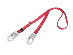 Adjustable Non-Shock Absorbing Lanyard for positioning