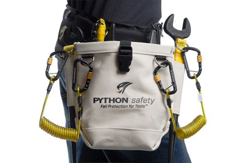 Python Safety Utility Pouch Harness Land
