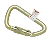 Temporary Anchorage Connectors With Steel Twist Lock Carabiner, 1 Inch | 17D-1/