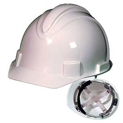 Charger Hard Hat with Ratchet Suspension by Jackson Safety