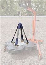 DBI-SALA Web Sling Lifting Kit for Roof Top Counterweight Anchor | 2104190