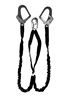 4 ft. Double Internal Shock Absorbing Lanyard with Rebar Hooks | Guardian 21217