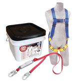 Compliance in a Can Light Roofer's Fall Protection Kit - 48 Pack | 2199806