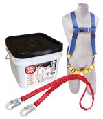 Compliance in a Can Light Roofer's Fall Protection Kit - In a Bucket | 2199809