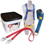Compliance in a Can Light Roofer's Fall Protection Kit with Tie-Off Adaptor | 2199810