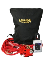 Guardian Big Boss Hitchclip Horizontal Lifeline Kit - 82' | 30812