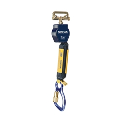6 ft. Nano-Lok Single Leg Self Retracting Lifeline with Quick Connector