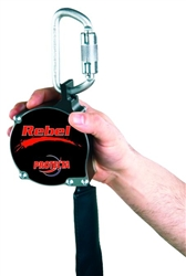 6' web Rebel Retractable Lanyard