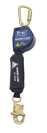 Nano-Lok Arc Flash Quick Connect Self Retracting Lifeline with Steel Carabiner | 3101533