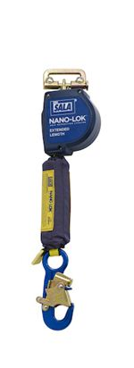 Nano-Lok Extended Length Self Retracting Lifeline with Anchor Hook - Web | 3101587
