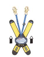 Talon Twin-Leg Quick Connect Self Retracting Lifeline with Snap Hooks - Web - 6 ft. | 3102001