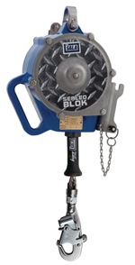 Sealed-Blok Self Retracting Lifeline - Retrieval/Bracket with Anchorage Carabiner - 50ft. | 3400926