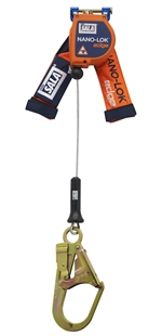 Nano-Lok edge Quick Connect Self Retracting Lifeline - Cable - 8 ft. | 3500248